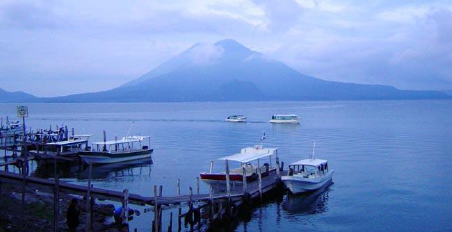 Lago de Atitlán en Sololá