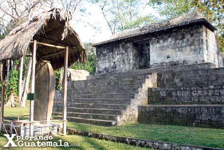 Ceibal y sus estelas mayas / foto 2