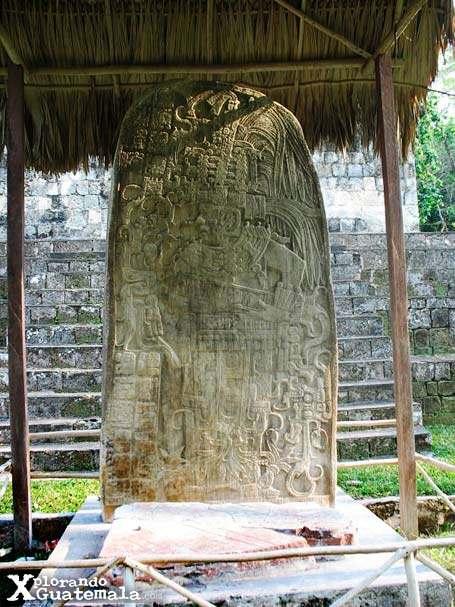 Ceibal y sus estelas mayas / foto 3