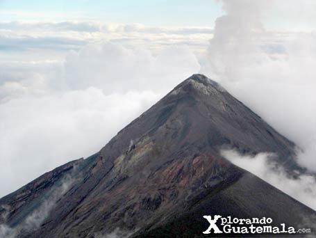 Cima del volcán de Fuego / foto 2