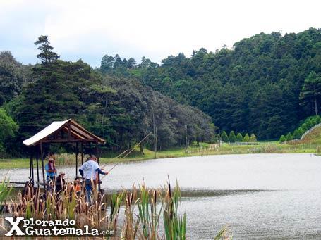 Laguna en Finca Cienaguilla