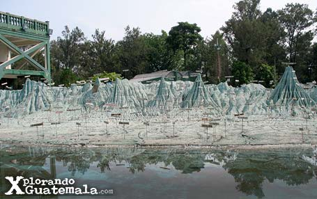 Mapa en Relieve, Ciudad de Guatemala / foto 2
