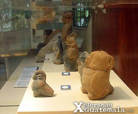 Museo de arqueología Maya en Yaxhá / foto 2
