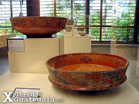 Museo de arqueología Maya en Yaxhá / foto 3