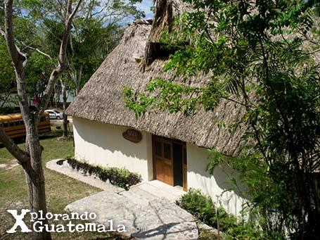 Museo de arqueología Maya en Yaxhá / foto 6