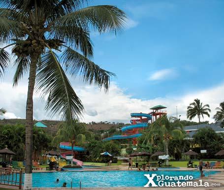 Parque Acuático Guastatoya en El Progreso / foto 2