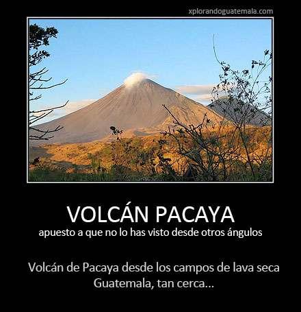 Volcán de Pacaya desde el otro lado