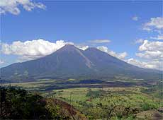 Volcanes de Fuego y Acatenango. Foto: Manuel Vanegas.