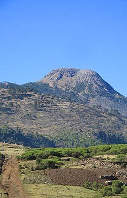 El gigante más alto de Centro América, el Volcán Tajumulco.