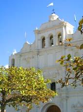 Iglesia principal de Salamá. Foto por Explorador.