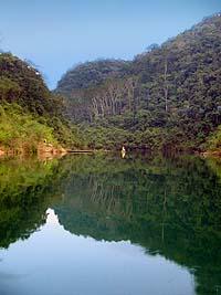 Lagunas de Sepalau, en Chisec. Foto por Explorador.