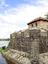 Castillo de San Felipe de Lara. Foto cortesía de www.fotosdeguatemala.com