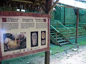 Palacio de los Estucos en Cancuén.