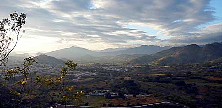 Vista desde la cima del Volcán Culma en Jutiapa. Foto por Mario Santos.