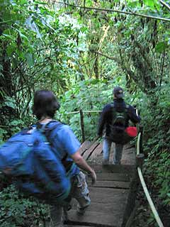 Tan solo somos viajeros, montañistas y guatemaltecos de corazón.