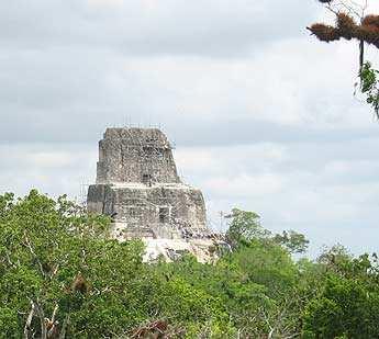 Templo IV de Tikal.
