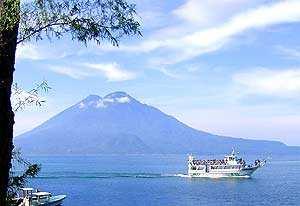 Disfruta del clima de Guatemala. (Foto: Lago de Atitlán)