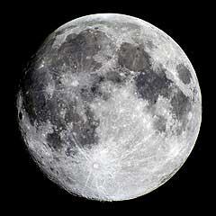 Una luna más brillante en septiembre 2010