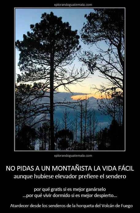 El montañismo es una forma de vida