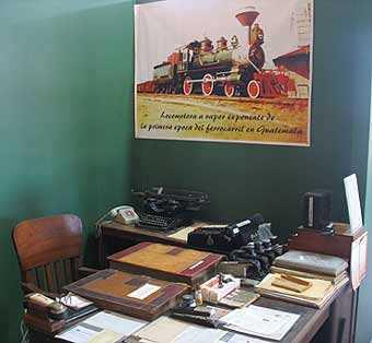 Antigua oficina de la estación del ferrocarril en Zacapa.