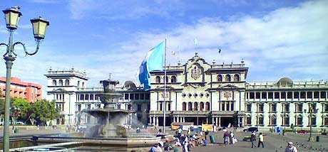 palacio nacional de la cultura de Guatemala