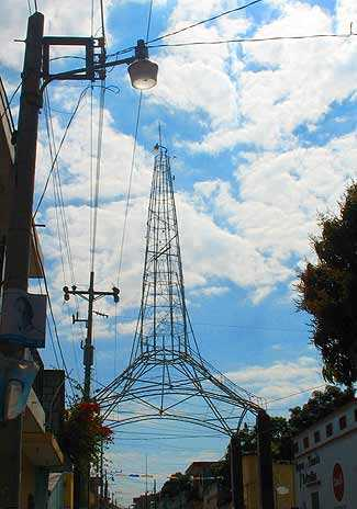 Torre del Reformador en Chiquimula.