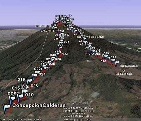 Ruta GPS: Volcán Acatenango por Concepción Calderas-foto-20--9-1-2014